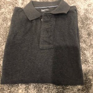 Like new! Boys LS GAP pique polo size large